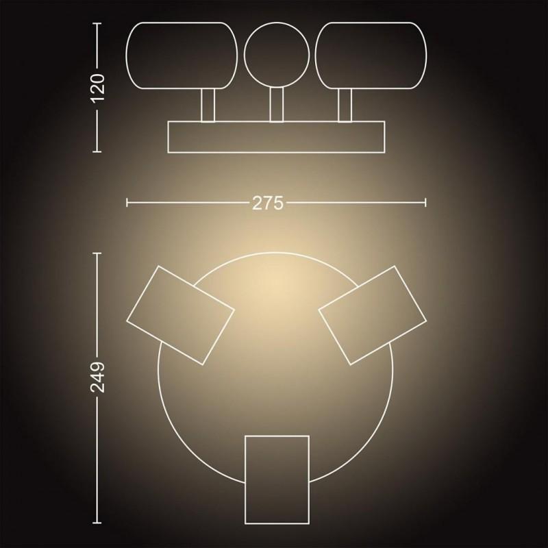 Monitor LED PHILIPS 222B9T/00, Touch 10 points, 21.5'', 1920x1080, TN, 250cd/m2, 1ms, VGA/DVI/DP/HDMI/USB, speakers