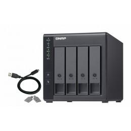 NAS - Hard Disk Retea QNAP NAS 4BAY 1U AL-314 1.7GHZ 2GB 10G QNAP
