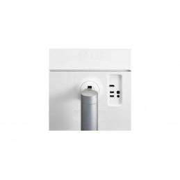 Senzori si detectoare Contact magnetic aparent, NC, autoadeziv (alb) CSAcces